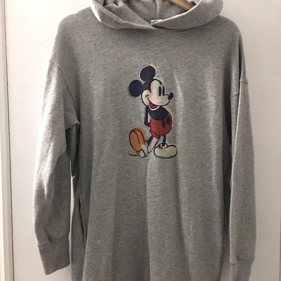 Uniqlo Mickey hoodie